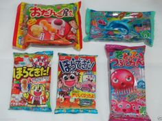 Kracie / Coris / Meiji 5pcs Set Japanese DIY Candy Kits! Cute & Delicious Sweets #KracieCorisMeiji