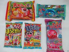 Kracie / Coris / Meiji 5pcs Set Japanese DIY Candy Kits! Cute & Delicious Sweets #KracieCorisMeiji
