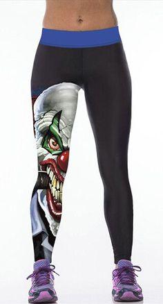 High Waist Skull 3d Printed Leggings Push Up Workout Legging Sporting Leggings Fitness Pants Women leggins Mujer Punk Jeggings
