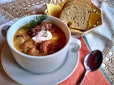 Cheeseburger Chowder, Thai Red Curry, Soup, Ethnic Recipes, Red Peppers, Soups, Chowder
