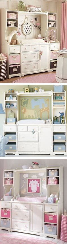 Munire brunswick nursery furniture collection in ash grey buybuybabycom. baby changing table inspiration same changing table 3 ways Baby Nursery Diy, Baby Boy Room Decor, Baby Room Diy, Baby Room Design, Baby Bedroom, Baby Boy Rooms, Baby Boy Nurseries, Nursery Ideas, Girl Nursery