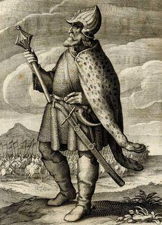Isaac Maior - hungarian soldier 1637