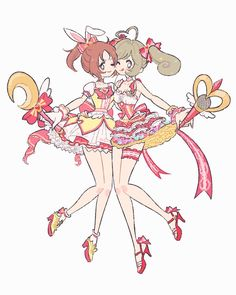 """たなか on Twitter: """"しゅがみん!… """" Kawaii Art, Kawaii Anime Girl, Anime Art Girl, Kunst Inspo, Art Inspo, Pretty Art, Cute Art, Anime Sisters, Anime Friendship"""