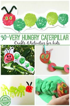30  Very Hungry Caterpillar Activities for Kids featured on Kids Activities Blog