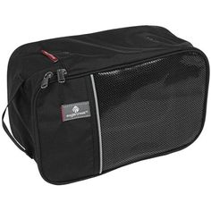 Eagle Creek Pack-It® Shoe Cube - Medium - thinking we will be able to use this to throw in all those loose power cords, memory sticks and cables to keep them contained.
