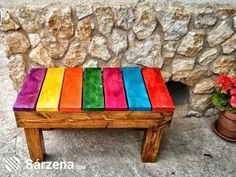 Create Simple Pallet Wood Projects To Enhance Your Home's Interior Decor Pallet Furniture, Painted Furniture, Furniture Design, Pallet Art, Pallet Projects, Deco Studio, Diy Table Top, Pallet Creations, Wood Pallets
