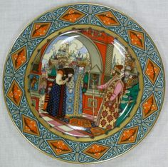villeroy and boch russian fairy tale plates - Google Search