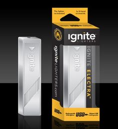 Cigarette Lighter USB Rechargeable Ignite Electra