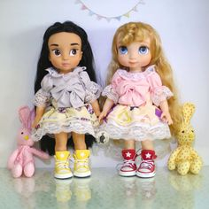 Dec04Pink ... Doll clothes for Disney by RabbitinthemoonThai