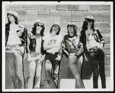 """zombiesenelghetto: """" Ramones, Sire-issued press release photo from August 1977 """""""