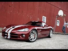 2008 Dodge Viper SRT10. Awesome American Muscle Car!