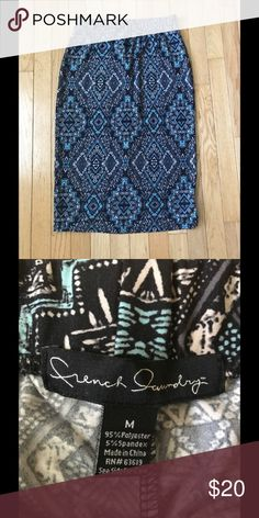 NWOT Tribal Print Pencil Skirt SUPER SOFT Tribal print pencil skirt!  This skirt feels like butter!  Brand new without tags! French Laundry Skirts Midi