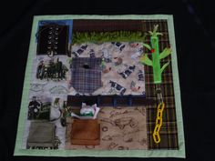 Busy Farmer Fidget Quilt -- Tactile Fun and Hand Activities