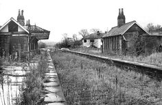 Disused Stations: Earby Station Old Train Station, Disused Stations, Abandoned Buildings, Model Trains, Yorkshire, Railroad Tracks, Photographs, Shed, Survival