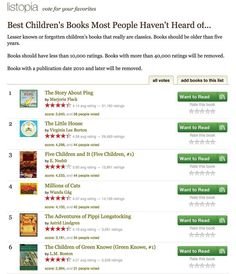 GoodReads: A great source to find kids' book recommendations too