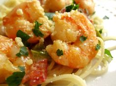 Santa Fe Pasta & Shrimp from Food.com:   This dish sounds decadent, but might be a perfect dinner for two on some romantic evening--- or not!  Or, maybe you are just in the mood for a rich, yummy pasta dish for absolutely no reason at all!