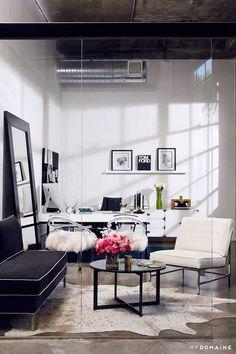 - Home Decoration - Interior Design Ideas Modern Office Design, Office Interior Design, Office Interiors, Modern House Design, Office Designs, Small Office Decor, Business Office Decor, Home Office Space, Professional Office Decor