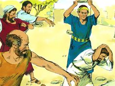 Paul and Barnabas In Lystra and Derbe :: Paul's first missionary journey. Paul and Barnabas visit Lystra and Derbe (Acts Free Bible Images, Bible Pictures, Free Stories, Bible Stories, Apocalypse, Yes Jesus Loves Me, Paul Bible, Sunbeam Lessons, Paul The Apostle