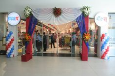 Entrance of the store
