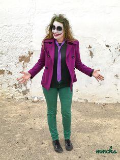 Disfraz de Joker para adulto  #Halloween #Joker #DisfrazJoker #JokerCustome #MakeUpJoker #Halloween2017 #MakeUpFantasy #DisfrazJokerHalloween #JokerHandMade