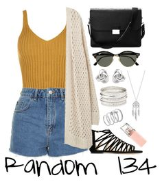 """""""Random 134"""" by megan-walz21 ❤ liked on Polyvore featuring WearAll, Topshop, Jimmy Choo, Violeta by Mango, Aspinal of London, Ray-Ban, Georgini, Lucky Brand, Charlotte Russe and Vince Camuto"""