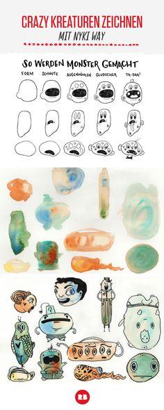 Entdecke gruselige Designs, Muster und Illustrationen für Kinder zu ...