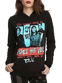 HOTTOPIC.COM - Pierce The Veil Heaven Girls Pullover Hoodie
