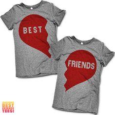 Best Friends Heart | Best Friends Shirts