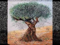 Η ελιά στις τέχνες Environmental Education, Olive Tree, Autumn Activities, Moose Art, Olive Oil, Nature, Painting, Videos, Watercolor Art