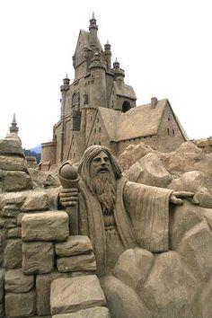 Destin Richter - Computer Consultant - Tribal Software - Sand Sculptures