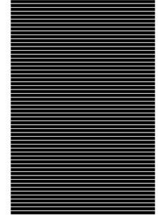 Seguramente habrás visto esta ilusión óptica animada en varios lugares, mira este video y crea la tuya de manera muy