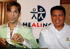 Prince and Muhammad Ali