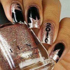 new yearlifeisbetterpolished nail nails nailart