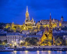 Iglesia de Matias e Iglesia Calvinista (Budapest) | Flickr: Intercambio de fotos