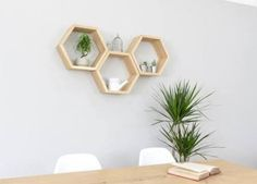 etagere hexagonale - Recherche Google