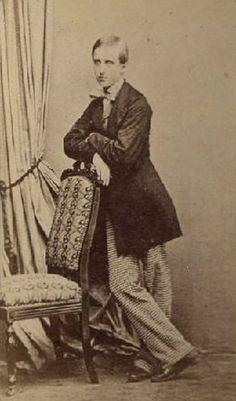 Louis Philippe Marie Léopold d'Orléans (1845 – 1866) was Prince of Condé. He was the first member of a royal house to visit the Australian continent. Louis d'Orléans was the eldest son of Henri d'Orleans, Duke of Aumale & his wife, Princess Maria Carolina of Bourbon-Two Sicilies. He was awarded the title of Prince of Condé. This title had originally been borne by the House of Bourbon-Condé. Following the outbreak of the French Revolution of 1848, he & his family went into exile in England.