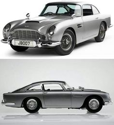 "Aston Martin DB5 -=- The ""James Bond"" Car, Stunning Beauty As Perfect for his Character & Personality <3"