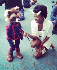 Adorable Rocket Raccoon Cosplay