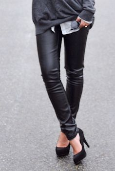 leather pants. I REALLY want some.