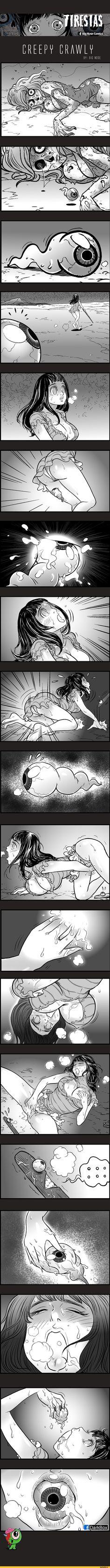 Chapter 36 Creepy Crawly Olle Cy :v Adult Cartoons, Adult Humor, Horror Comics, Funny Comics, Creepy Horror, Scary, Silent Horror, Dark Comics, Johnny Bravo