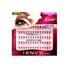 iEnvy Individual Knot Free KPE06 Combo - Color Black - Individual Natural Style Eyelashes