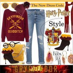 Bright Colors Outfit * Harry Potter