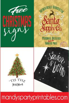 369 best Free Christmas Printable images on Pinterest in 2018 | Free ...