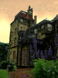 Fonthill Castle on 60 acres in Doylestown, PA