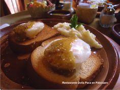 Desayunos en Restaurante Doña Paca en Pátzcuaro