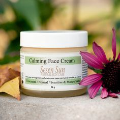 Calming Face Cream, (Unscented) Sensitive / Normal & Mature Aging Skin - 50g $54.95