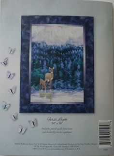 Aurora Ridge~Blk 5~First Light~McKenna Ryan Pine Needles Wildlife Nature Pattern, Multi Color