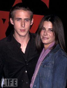 Ryan Gosling & Sandra Bullock, 2001