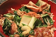 Vietnamese slow cooker chicken with bok choy
