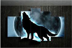 Resultado de imagen para pintar lobos en oleo